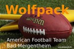 American Football Team Wolfpack